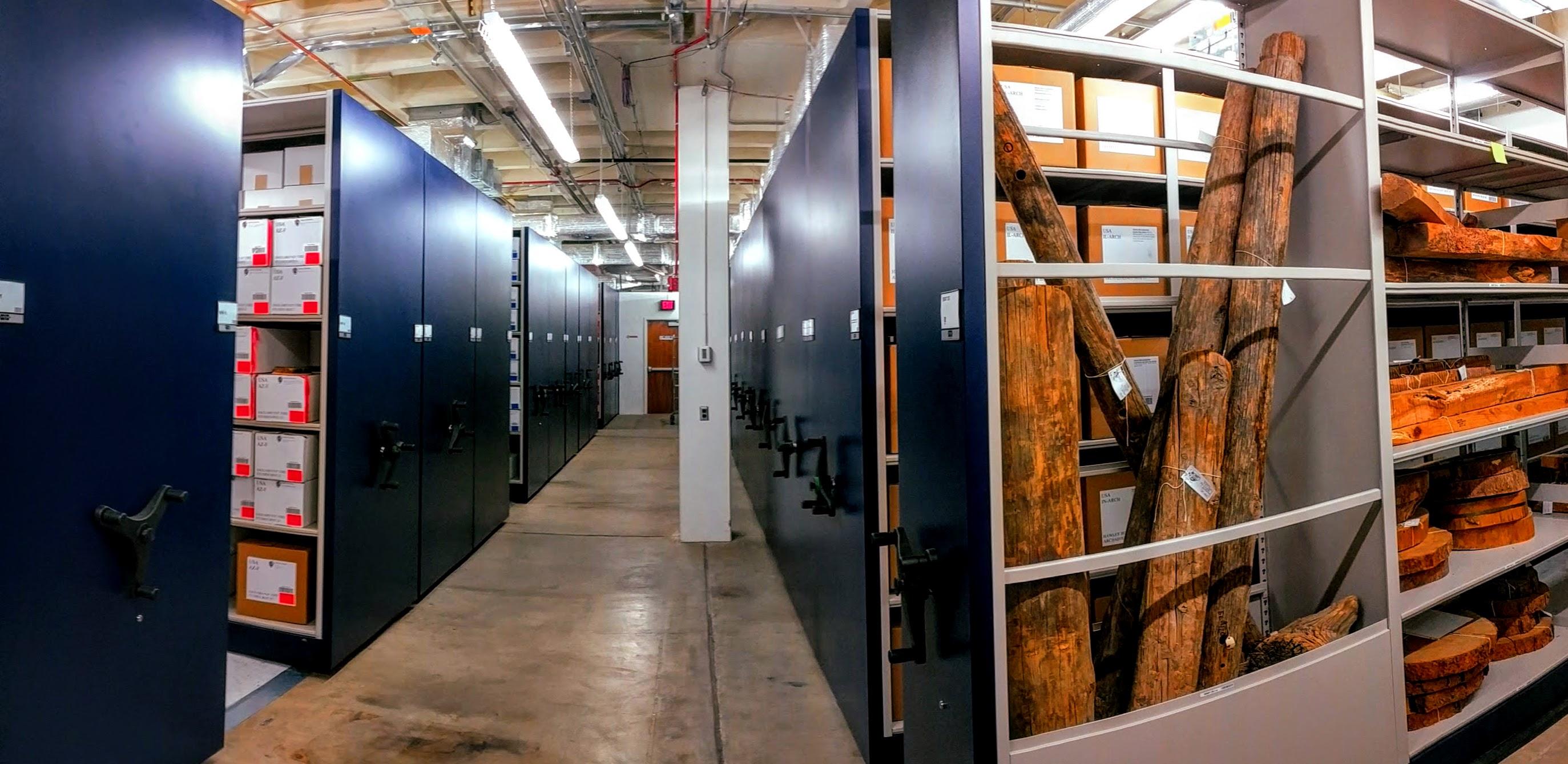 Basement repository